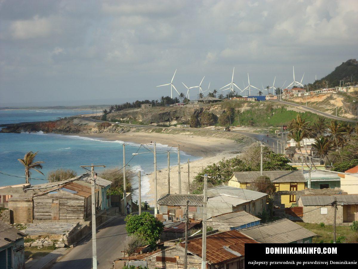 Dominikana krajobraz Enriquillo