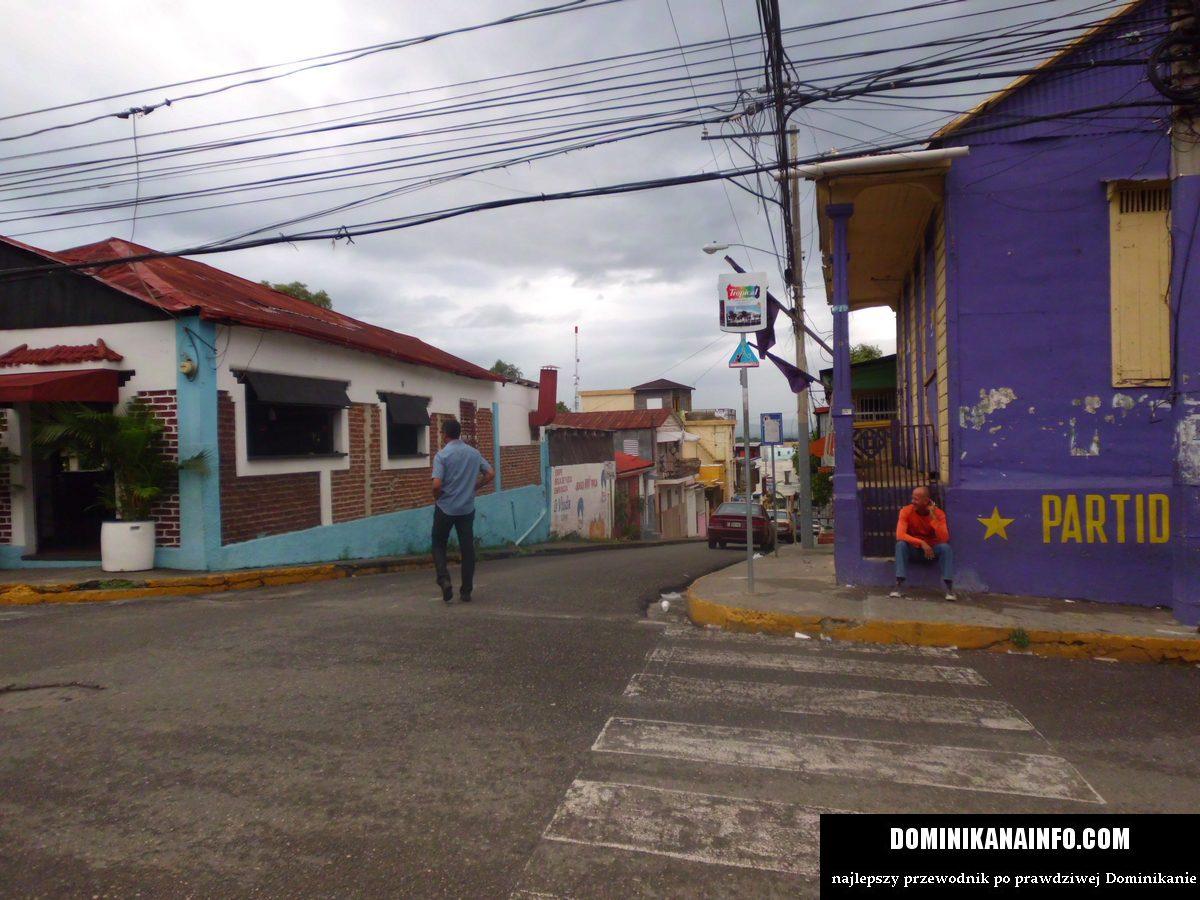 Dominikana ulica w Santiago