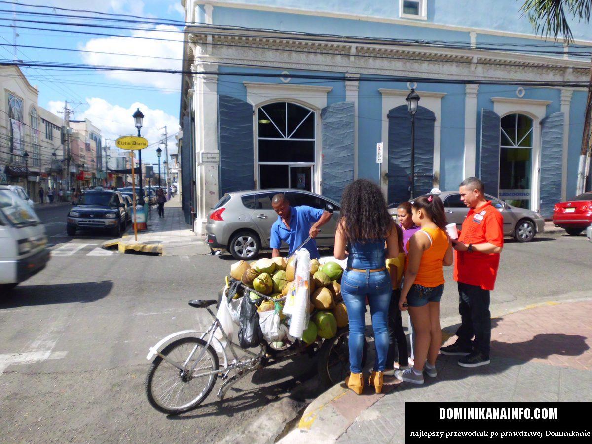 Dominikana uliczni sprzedawcy
